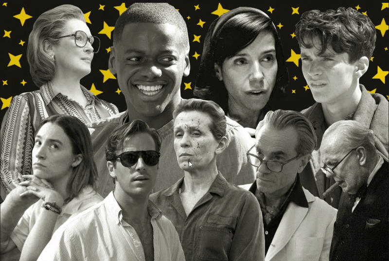 2018 best picture academy award nominees