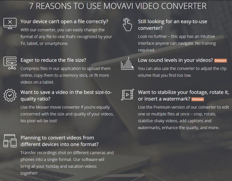 7 reasons why to use movavi video converter