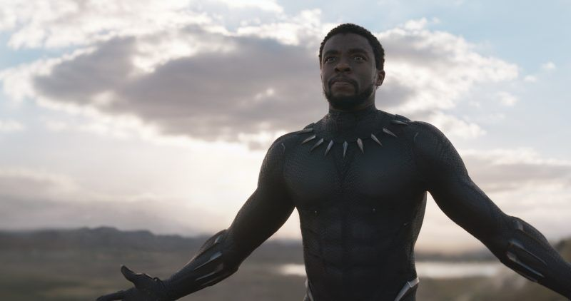 black panther movie t'challa chadwick boseman world building images