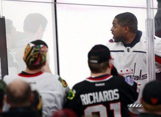 capitals devante smith pelly disgusted by NHL fans racial taunts 2018 images