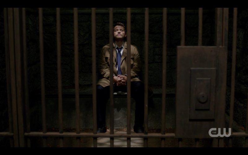 castiel in jail cell supernatural 1312 images