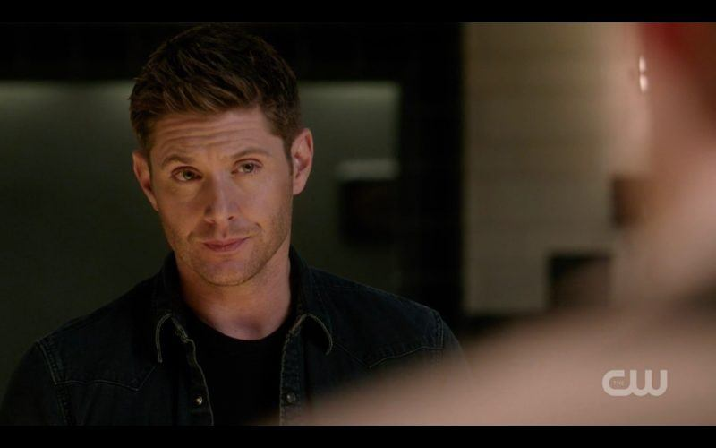 dean winchester looking at castiel misha collins supernatural 1313