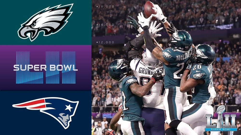 866200918 Eagles vs Patriots makes an unforgettable Super Bowl 52 | Movie TV ...