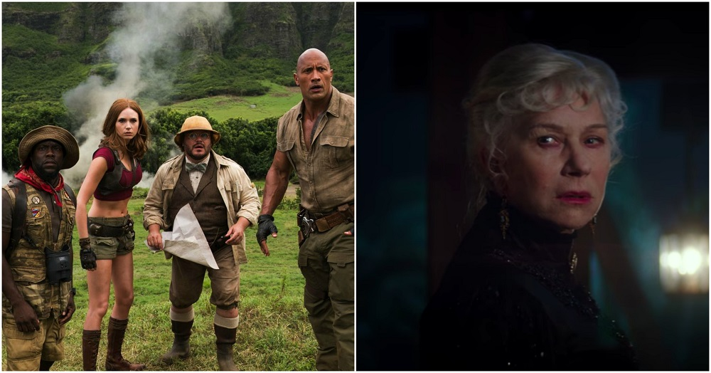 jumanji takes top spot again for super bowl box office weekend 2018 images