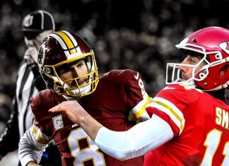 kirk cousins dealing with alex smith redskins trade shakeup for nfl
