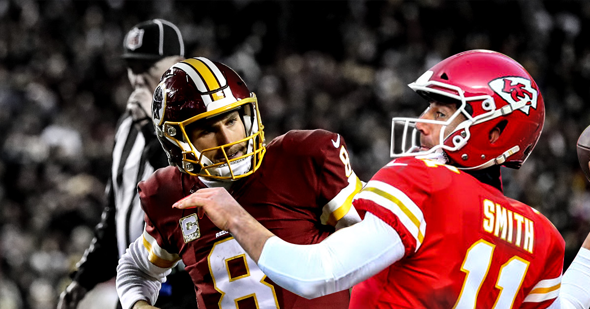 38b7606a4 Alex Smith trade shakes up NFL with Redskins talking Kirk Cousins ...