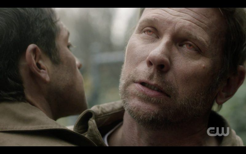 mark pellegrino lucifer in castiels arms supernatural
