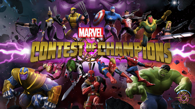 marvel contest of champions apple iphone x app