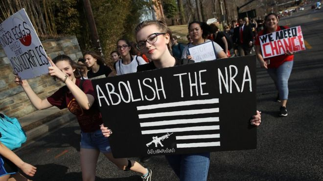 nra conservative outlets cant stop angry parkland teens
