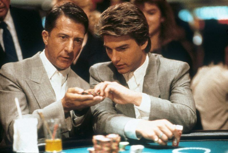 RAIN MAN casino images dustin hoffman with tom cruise bulge images