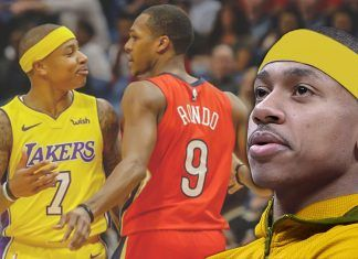 rajon rondo beef with isaiah thomas heats up 2018 images