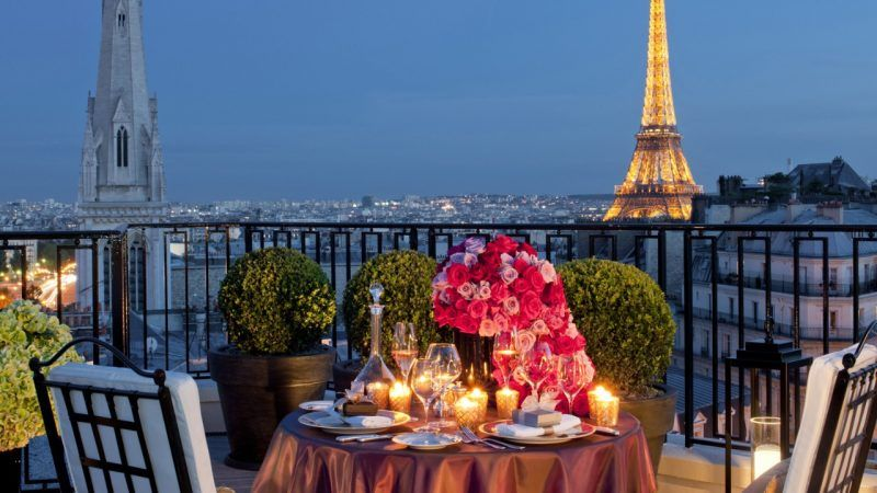 romantic paris vacation getaway valentines day