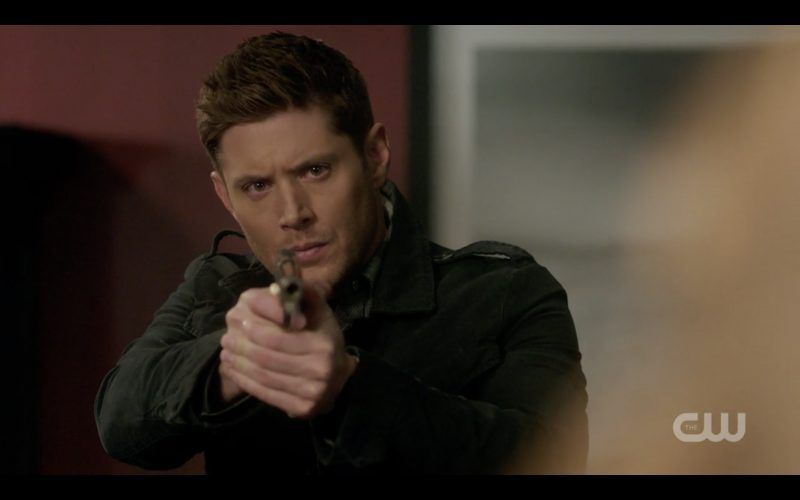 supernatural 1312 dean winchester shooting off for sam