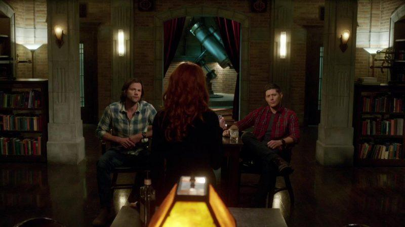 supernatural 1312 rowena with winchester brothers