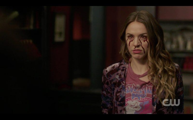 supernatural 1312 witch sisters bleeding eyes image