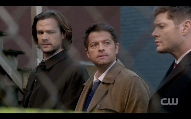 supernatural castiel with sam dean winchester 1313