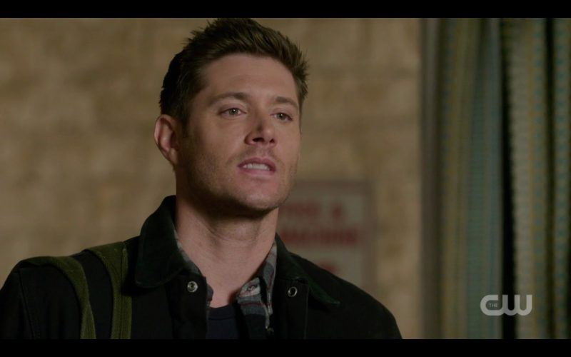 supernatural dean winchester bits lip from lucifer hurting sam 1313