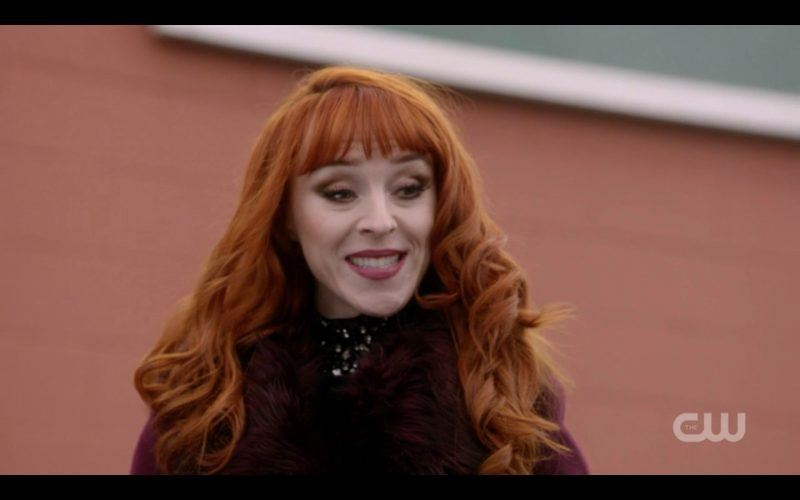 supernatural villains sundry rowena smiles at winchester brothers