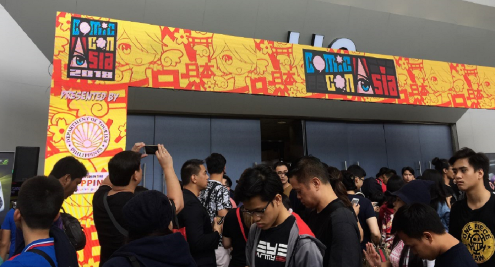 ComicCon Asia convention or master of confusion 2018 images