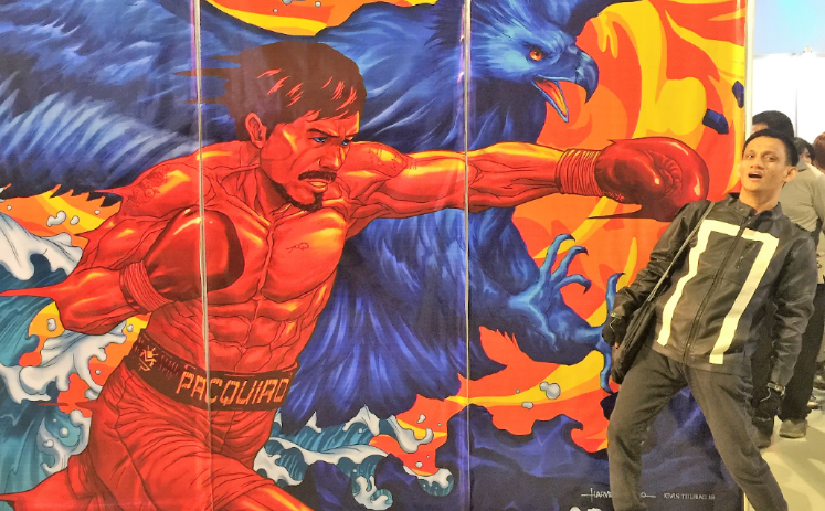 Manny Pacquiao scared off artists from comic con asia 2018 for anti gay views