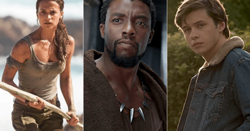 black panther beats off tomb raider and love simon box office news