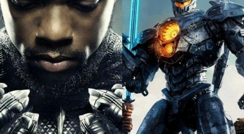 black panther cant hold off pacific rim uprising at box office weekend