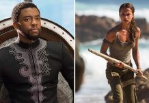 black panther marvels hot top box office champion takes week 5 over tomb raider 2018 image