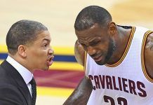 cavs head coach tyronn lue health concerns leads him to take leave 2018 images