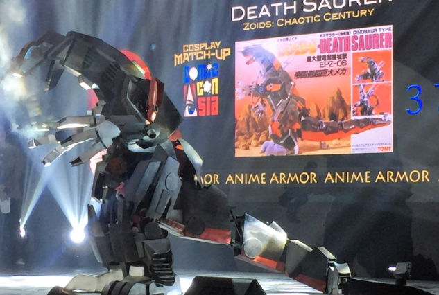 deathstroke at comic con asia 2018