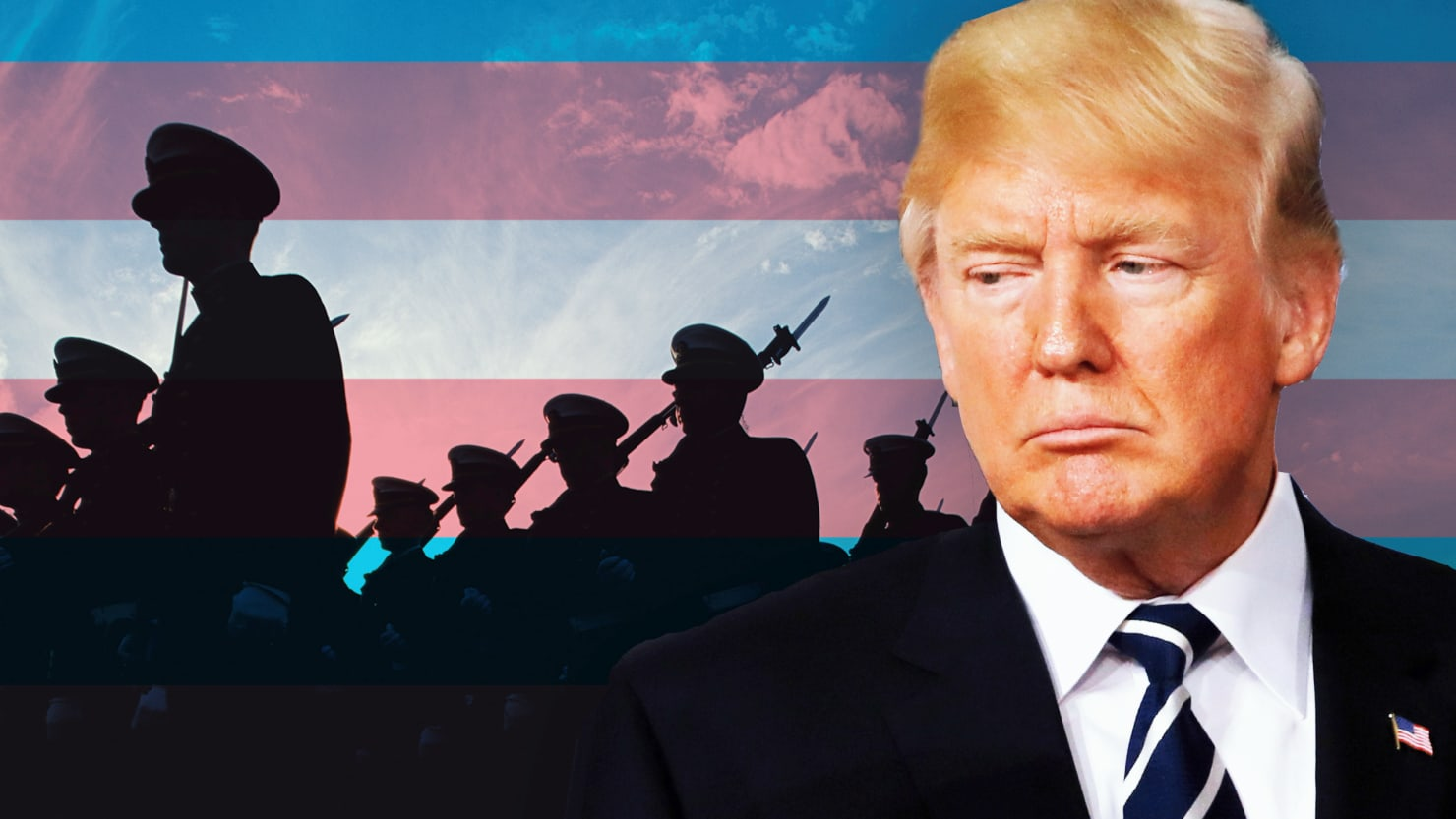 donald trump caters to religious base wants trans ban military