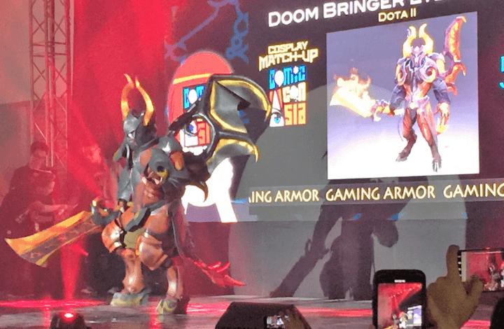 doom bringer at comic con asia 2018