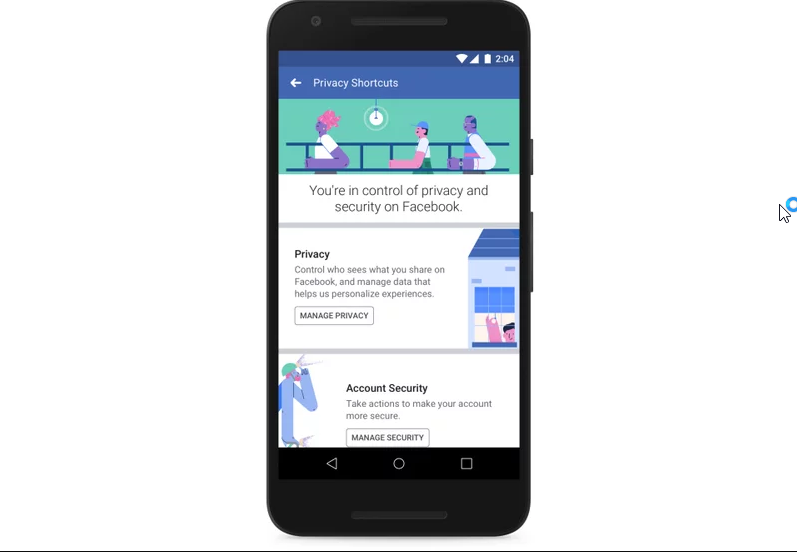 facebook new privacy settings after scandal