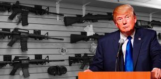 fact checking donald trumps gun control, trade and happy white house claims 2018 images
