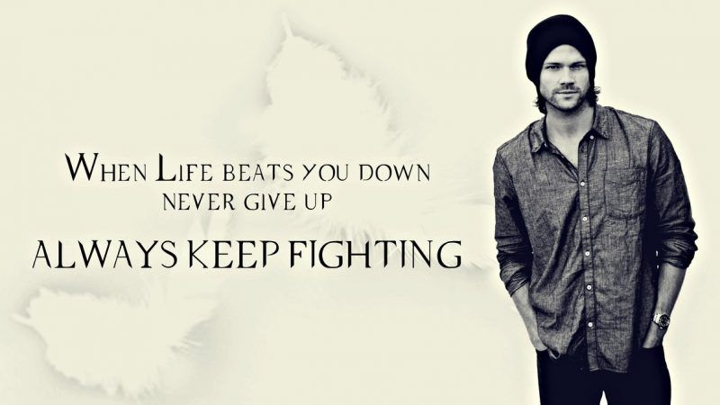 jared padalecki always keep fighting org for bullying suicide deviant art images