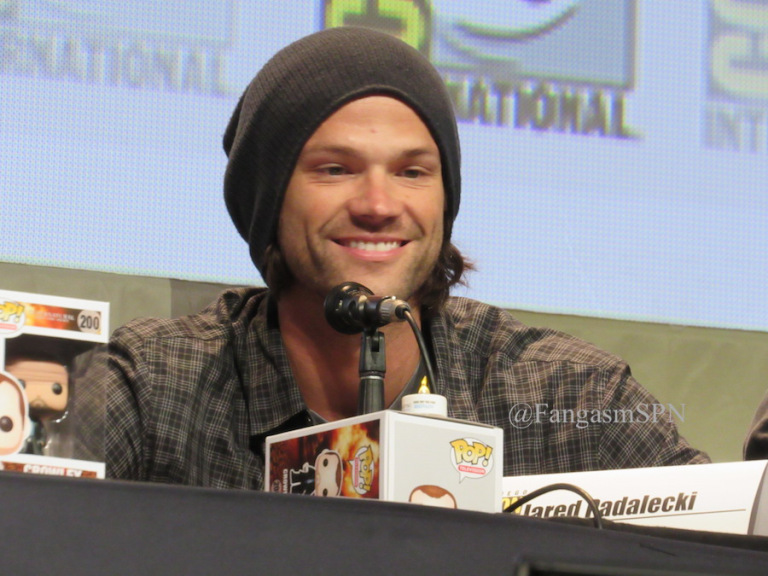 jared padalecki comic con 2015 always keep fighting