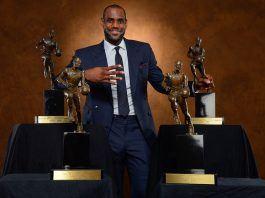 Cavs LeBron James knows perfect 2018 NBA MVP images
