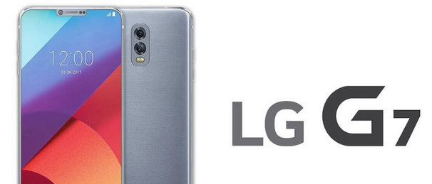 lg g7 smartphone notch like apple