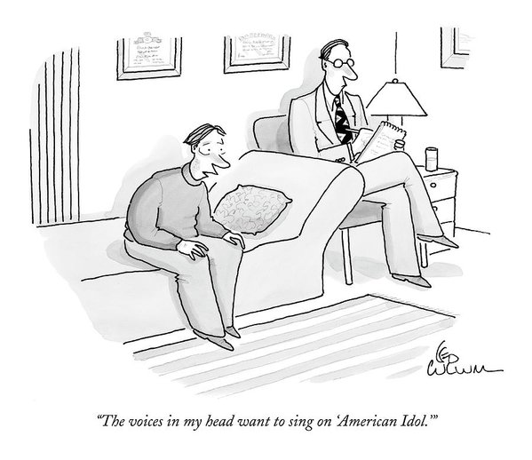 new yorker american idol cartoon