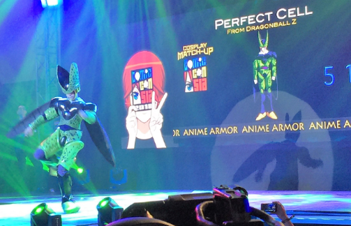 perfect cell at 2018 comic con asia