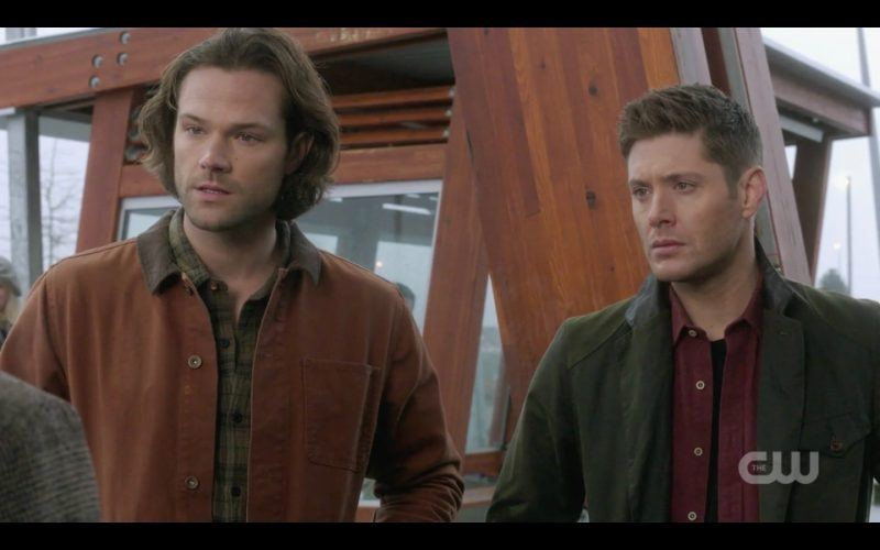 sam dean winchester with supernatural father lucca