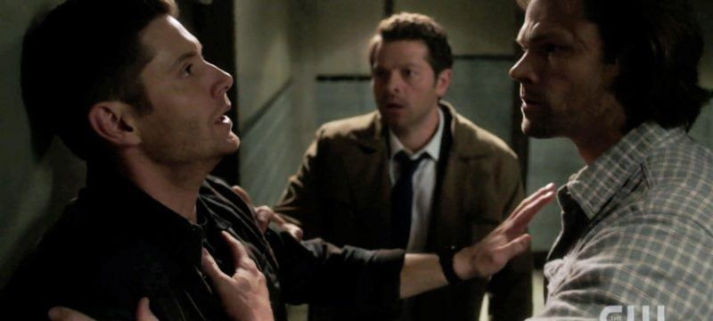 supernatural 1314 good intentions winchester brothers embraced with castiel
