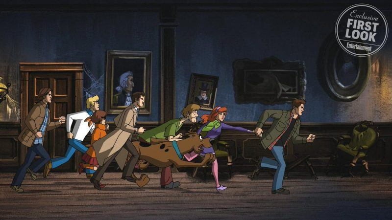 supernatural 1316 gets scooby doo special