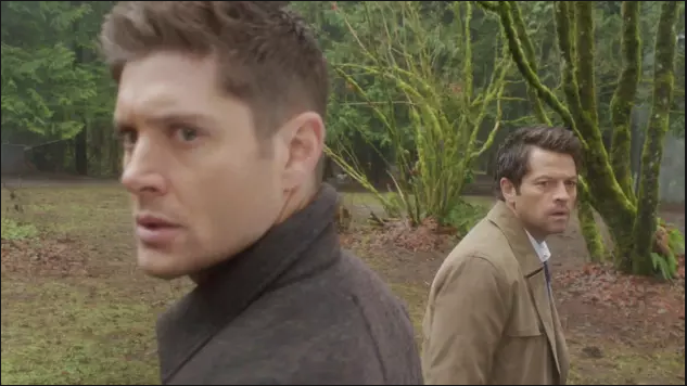 supernatural castiel and dean fighting without sam 1314
