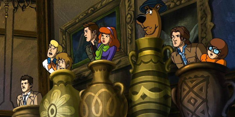 supernatural crosses over with scooby do winchester brothers