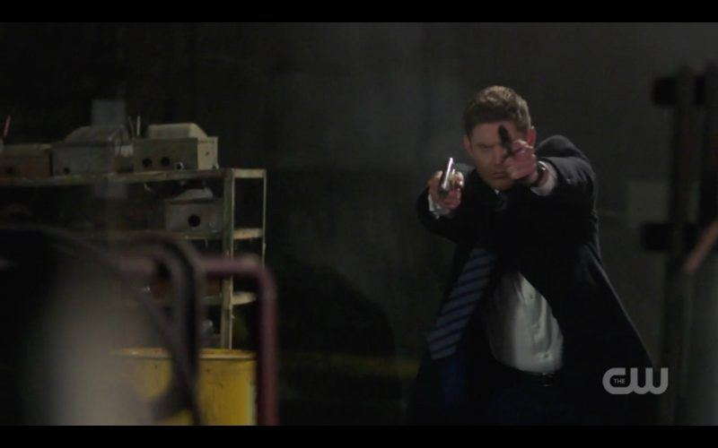 supernatural dean winchester holding gun a most holy man