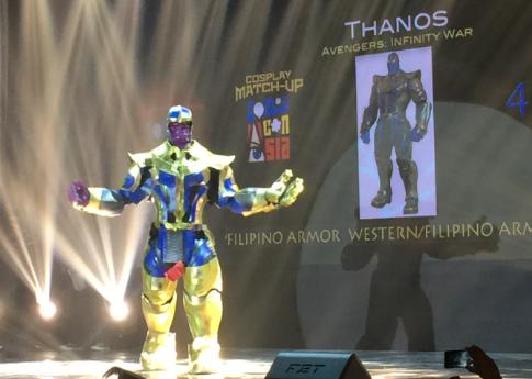 thanos at comic con asia 2018