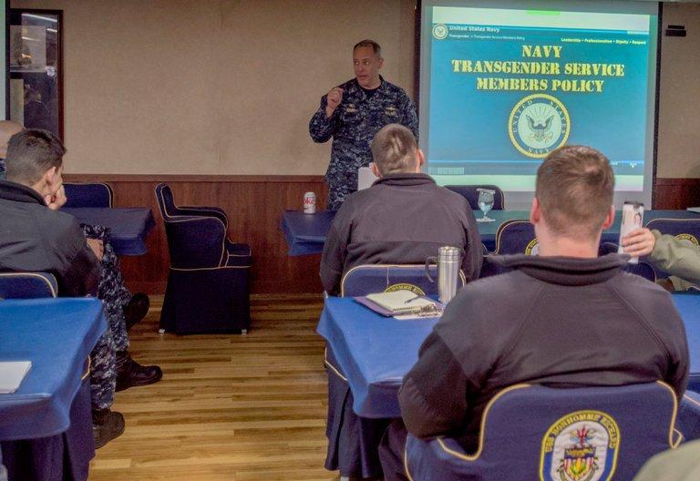 us navy army holding transgender panel donald trump