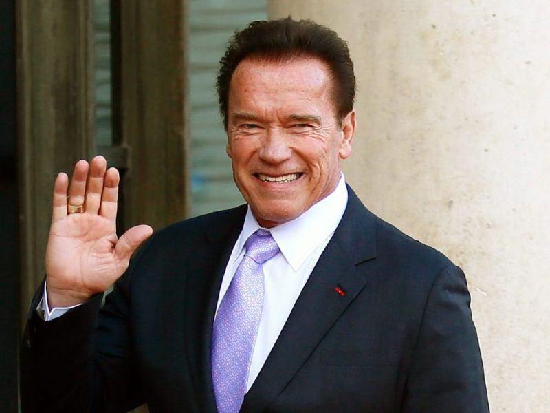 Arnold Schwarzenegger back from hospital after heart surgery
