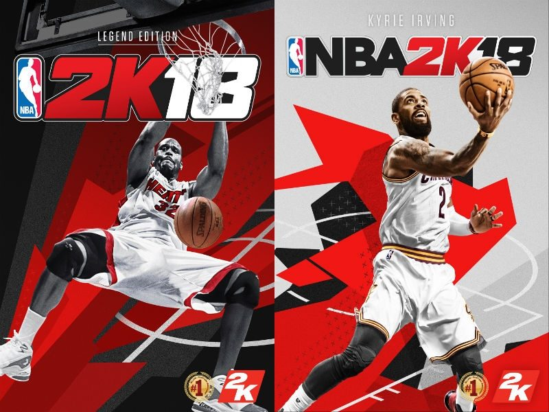 NBA 2k18 ps4 xbox one games