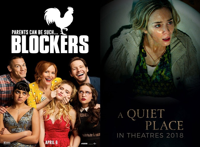 a quiet place box office weekend with blockers sxsw hot